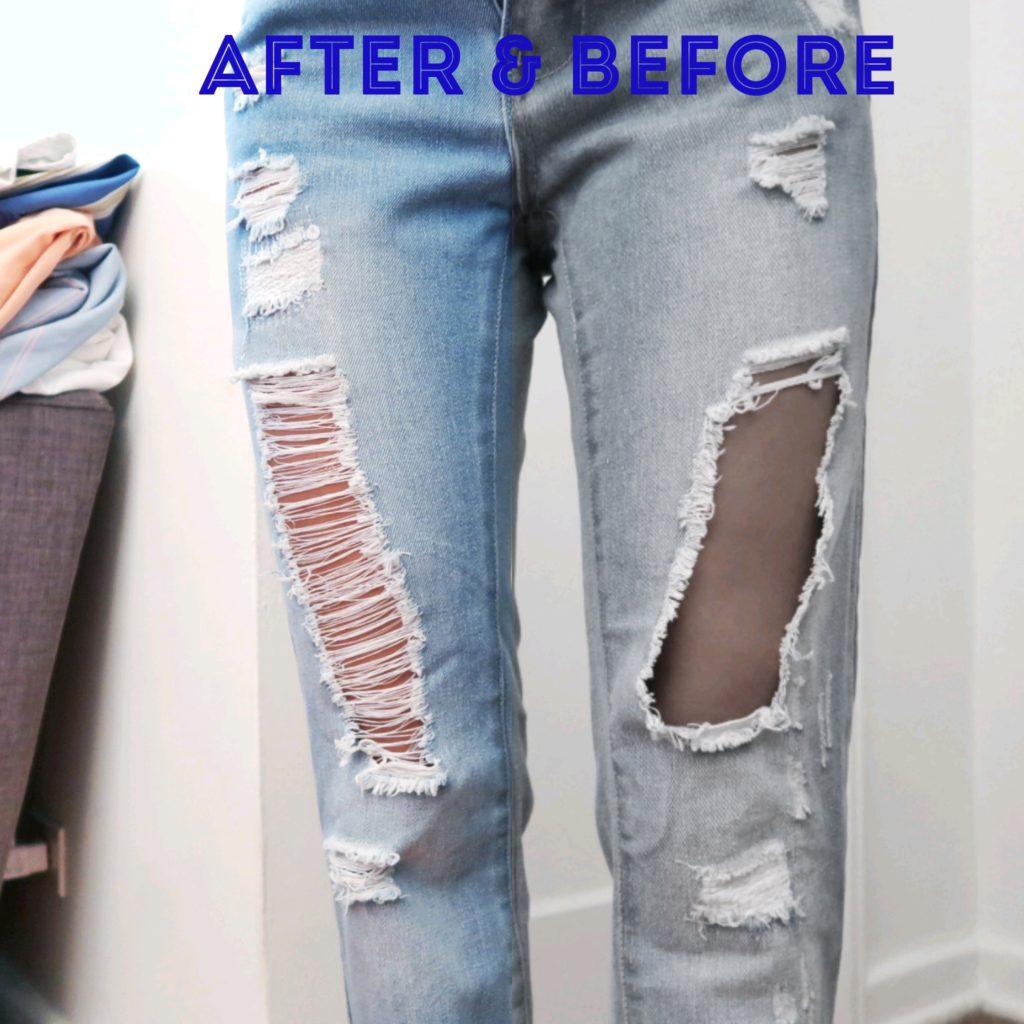 Guia Diy Super Facil Para Reparar Tus Jeans Rotos Viejo A Nuevo Simplory